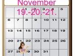 Mesačný kalendár energií - november 2018