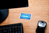 BioProtect Card pri počítači